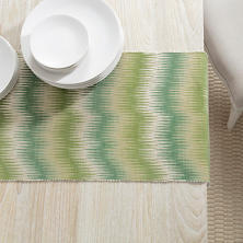 Sequoia Evergreen Table Runner