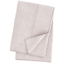 Seta Zinc Quilted Throw