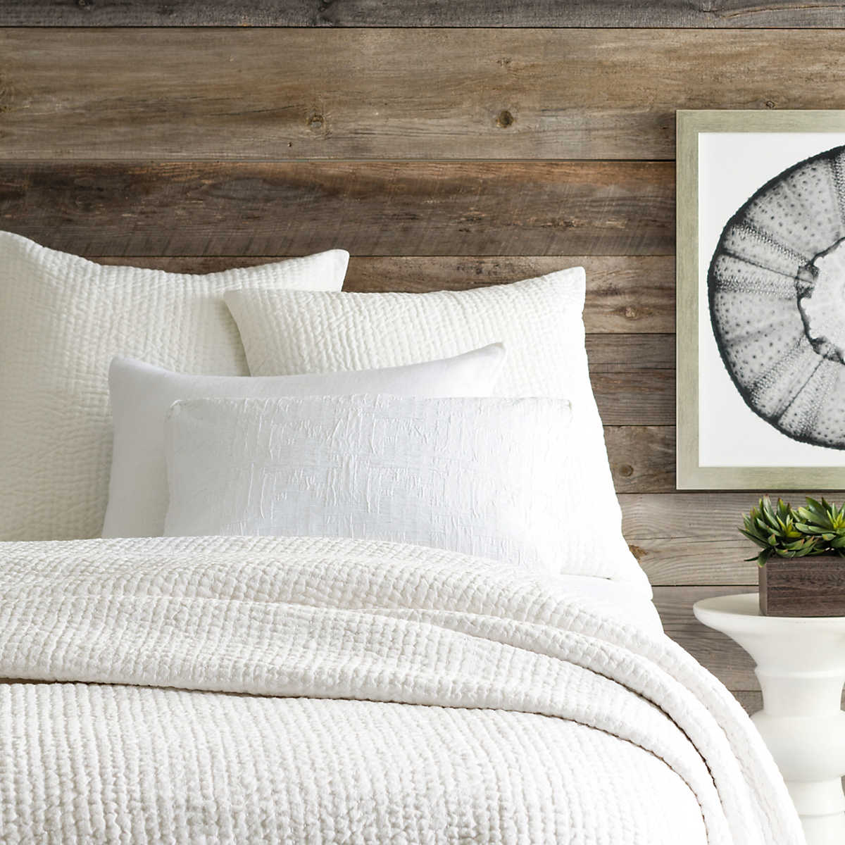 Seychelles Dove White Quilt | Pine Cone Hill : white quilted coverlet - Adamdwight.com