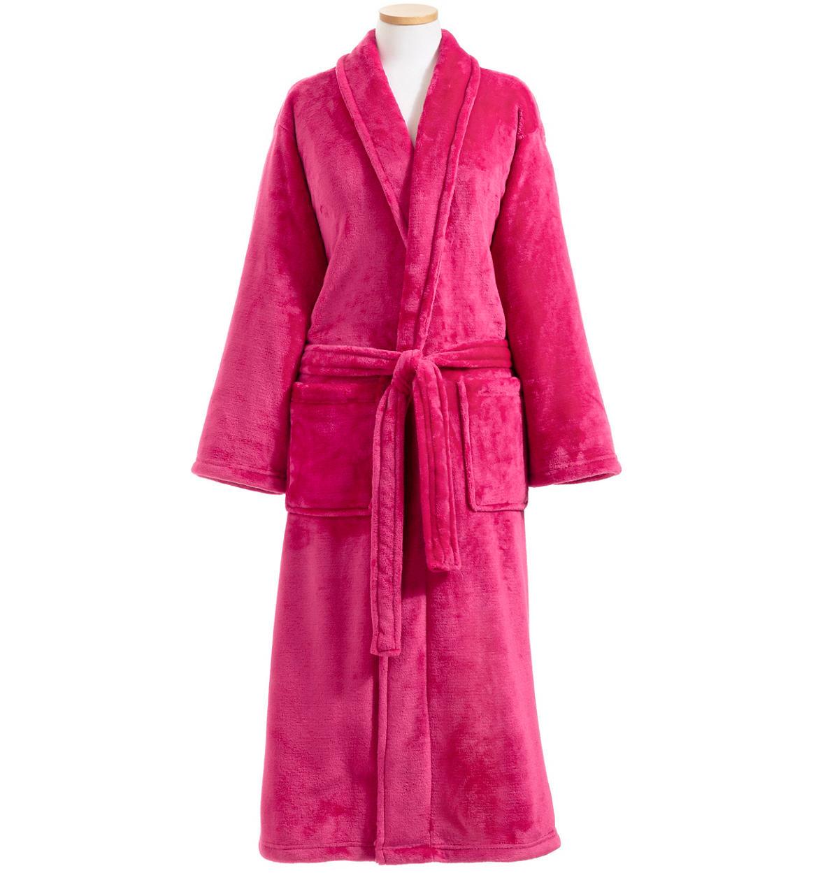 Sheepy Fleece 2.0 Cerise Robe