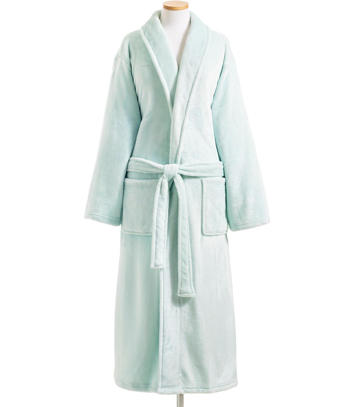 Sheepy Fleece 2.0 Chalk Blue Robe