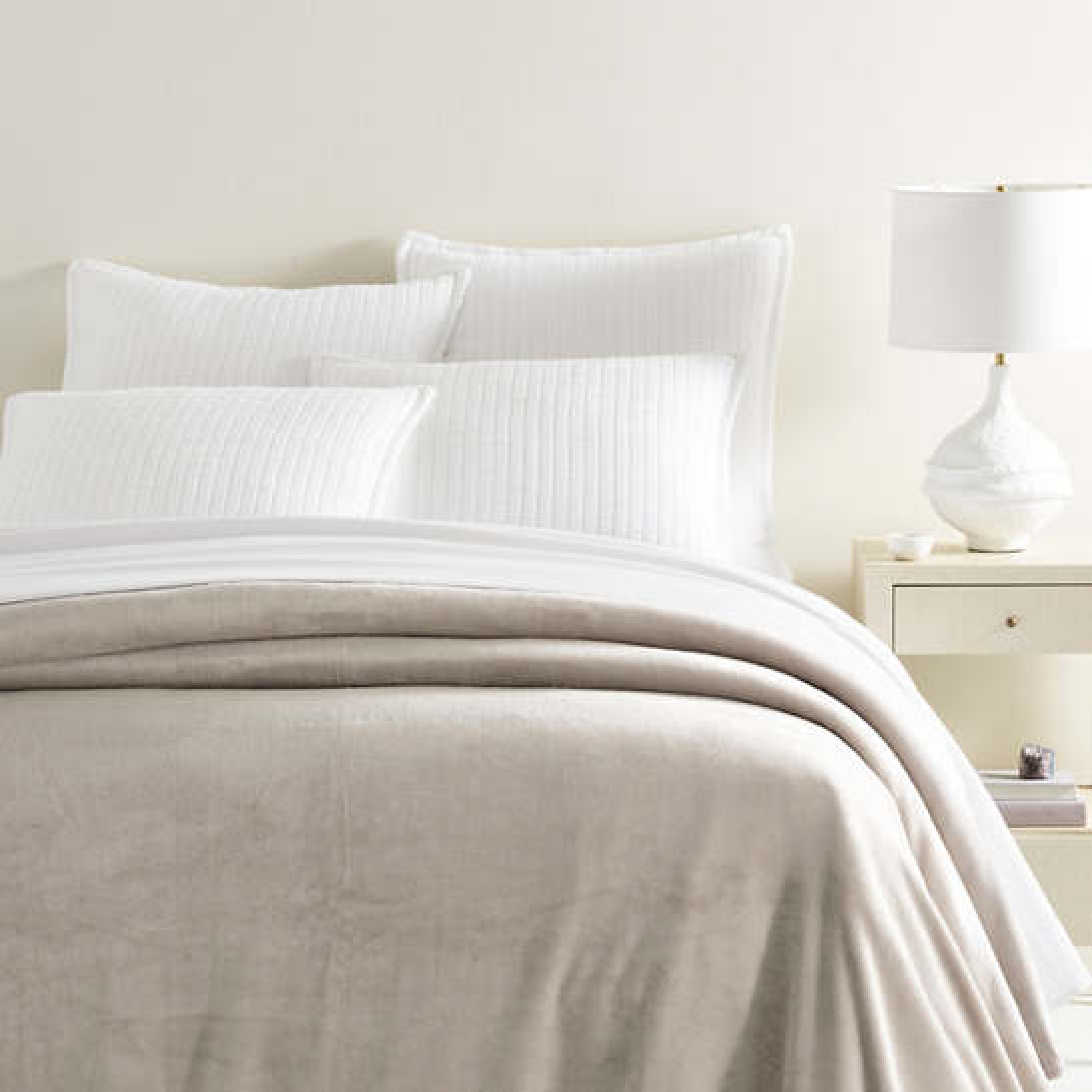 Sheepy Fleece 2.0 Dove Grey Blanket
