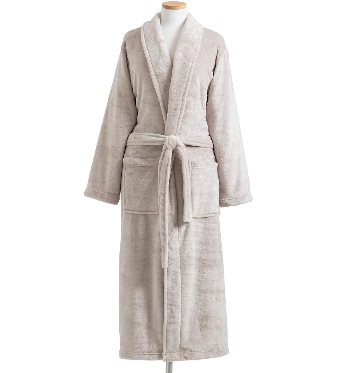 Sheepy Fleece 2.0 Dove Grey Robe