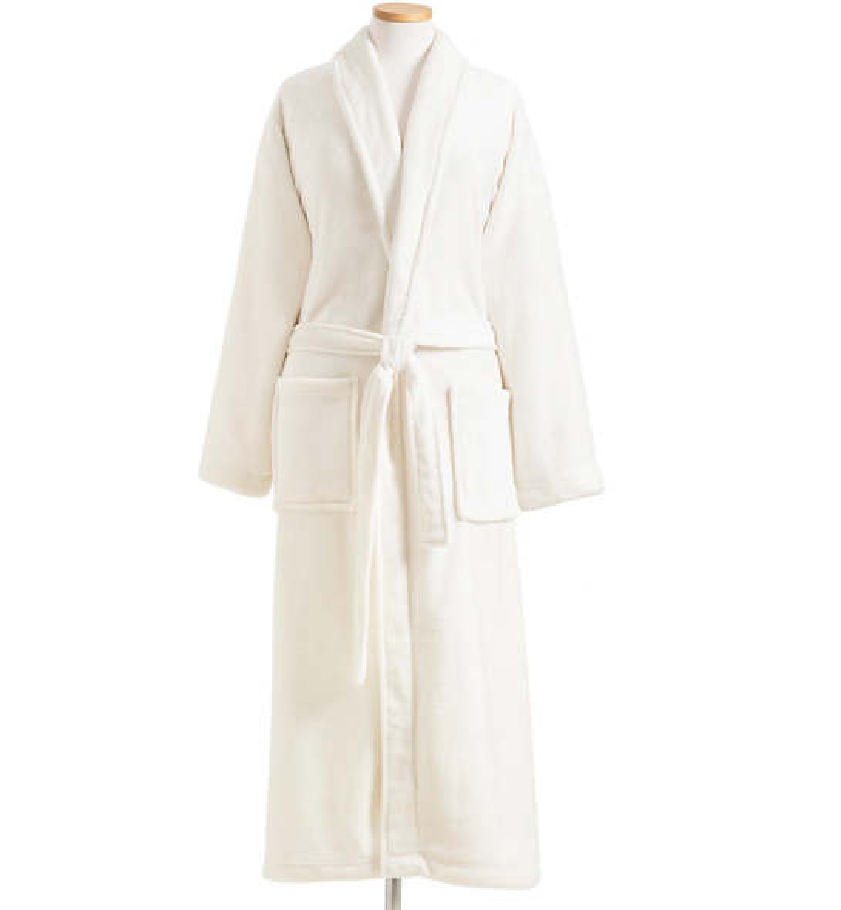 Sheepy Fleece 2.0 Ivory Robe