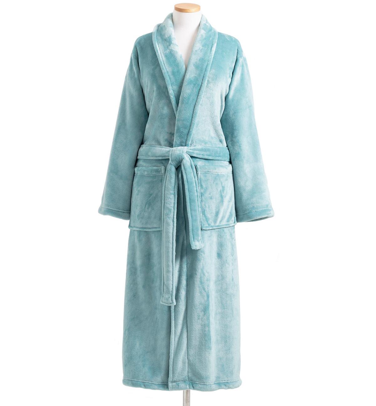 Sheepy Fleece 2.0 Teal Robe