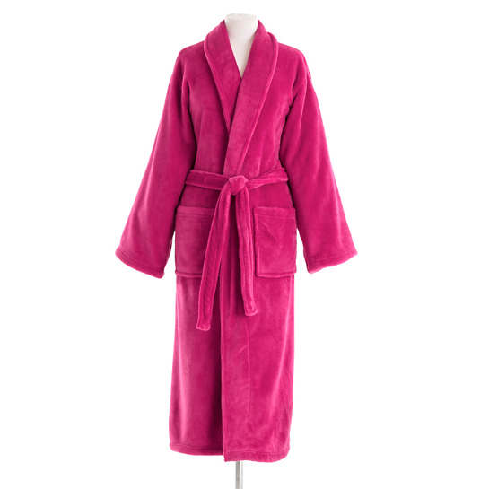 Sheepy Fleece Magenta Robe