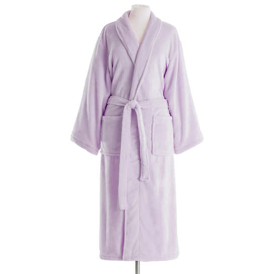 Sheepy Fleece Pale Lilac Robe