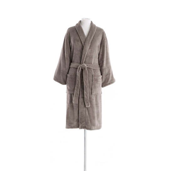 Sheepy Fleece Pebble Shortie Robe