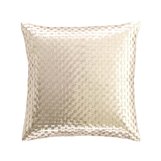 Shimmer Gold Decorative Pillow