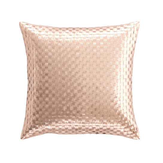 Shimmer Rose Gold Decorative Pillow