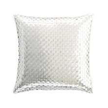 Shimmer Silver Decorative Pillow