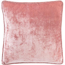 Blush Shimmer Velvet Decorative Pillow