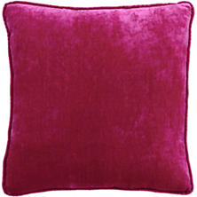 Magenta Shimmer Velvet Decorative Pillow