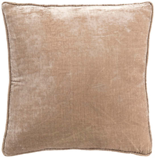 Pebble Shimmer Velvet Decorative Pillow