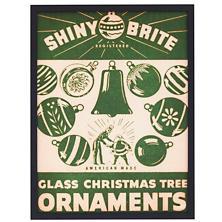 Shiny Brite Ornaments 1  Wall Art