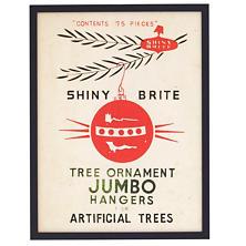 Shiny Brite Ornaments 3  Wall Art