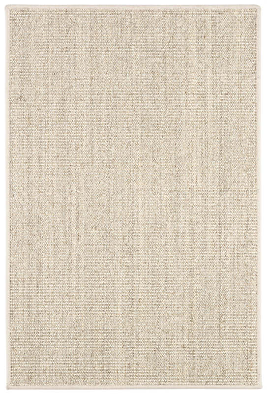 Shire Light Grey Woven Sisal Custom Rug