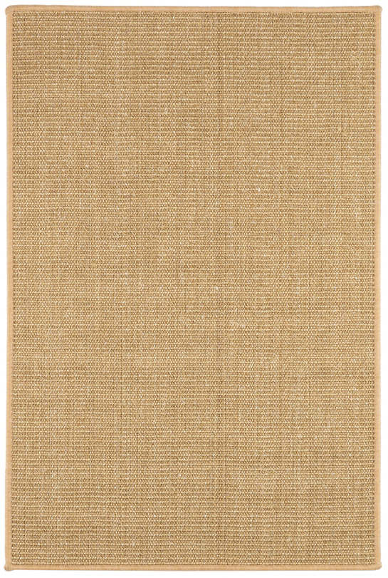Shire Natural Woven Sisal Custom Rug With Pad