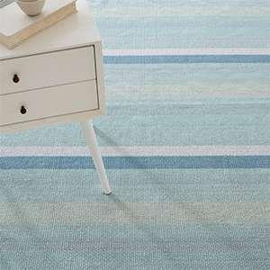 Shore Stripe Woven Cotton Rug