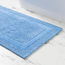 Signature French Blue Bath Rug