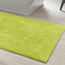 Signature Green Bath Rug