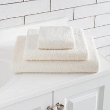 Signature Ivory Bath Towel