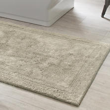 Signature Pearl Grey Bath Rug