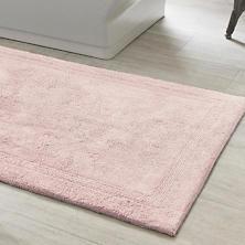 Signature Slipper Pink Bath Rug
