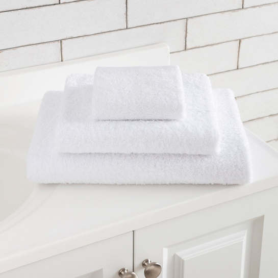 Signature White Bath Towel