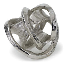 Silver Metal Knot