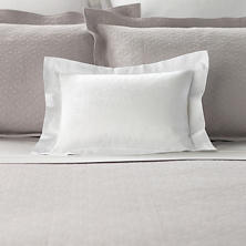 Simone White Decorative Pillow