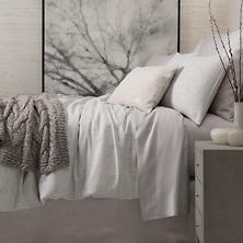 Sketch Jacquard Grey Duvet Cover