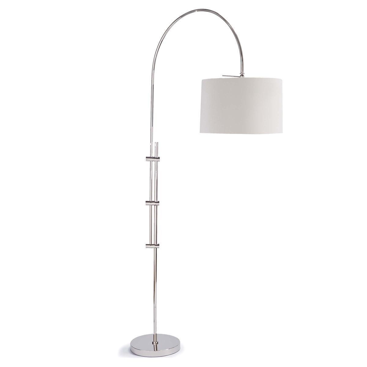 Skylar Nickel Floor Lamp
