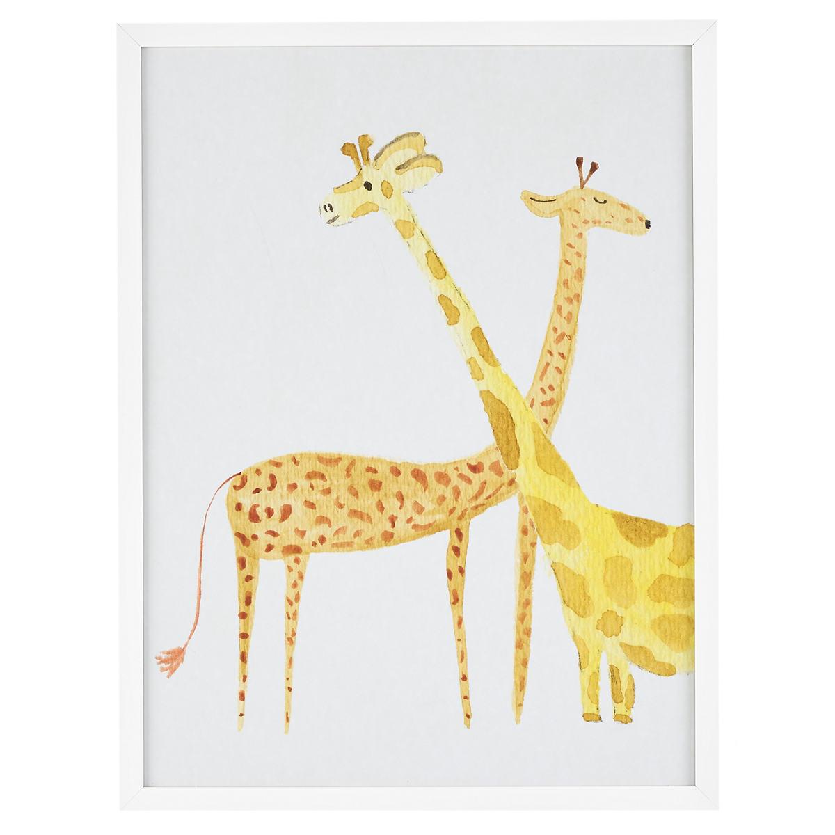 Social Giraffes  Wall Art