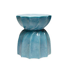 Soft Blue Bea Stool
