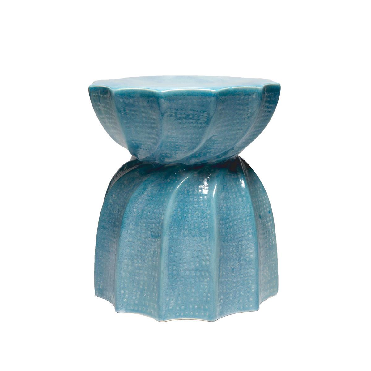 Soft Blue Bea Stool
