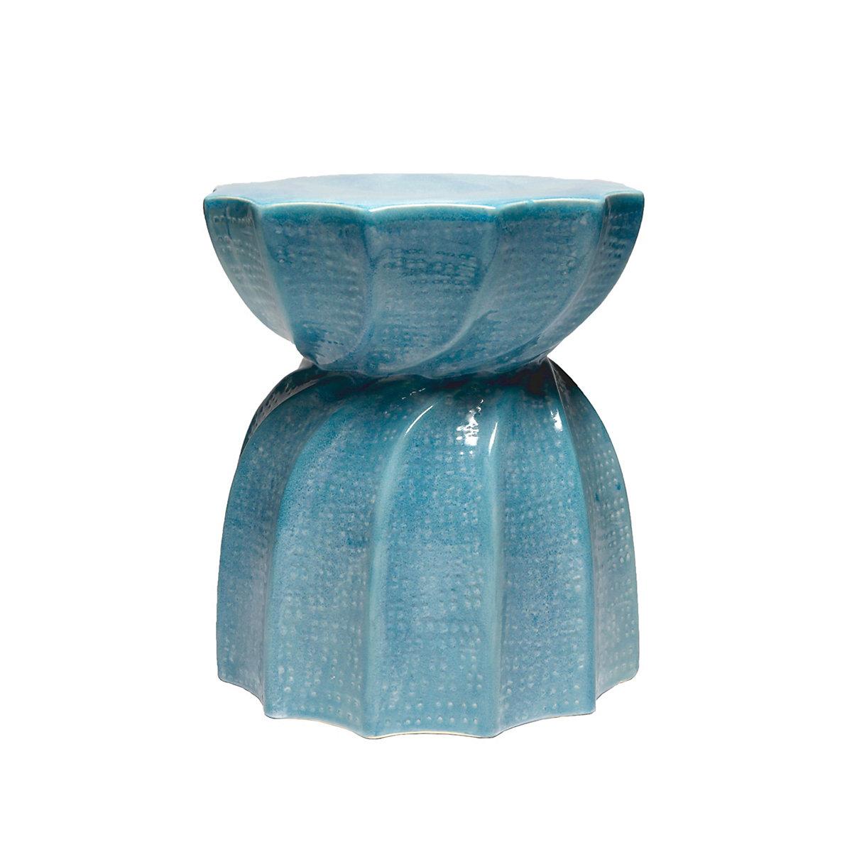 Soft Blue Bea Stool Furniture