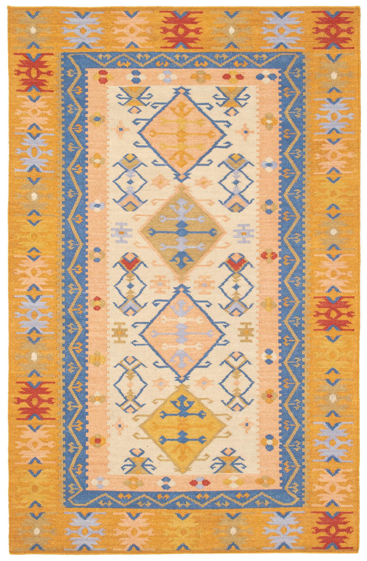 Solstice Kilim Woven Wool Rug