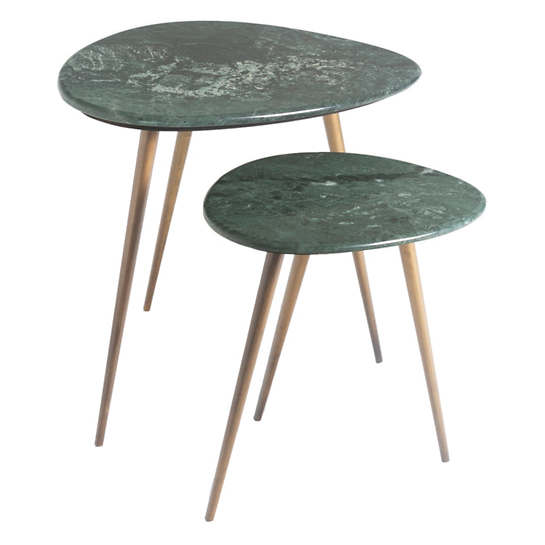 Soma Evergreen Side Table /Set Of 2