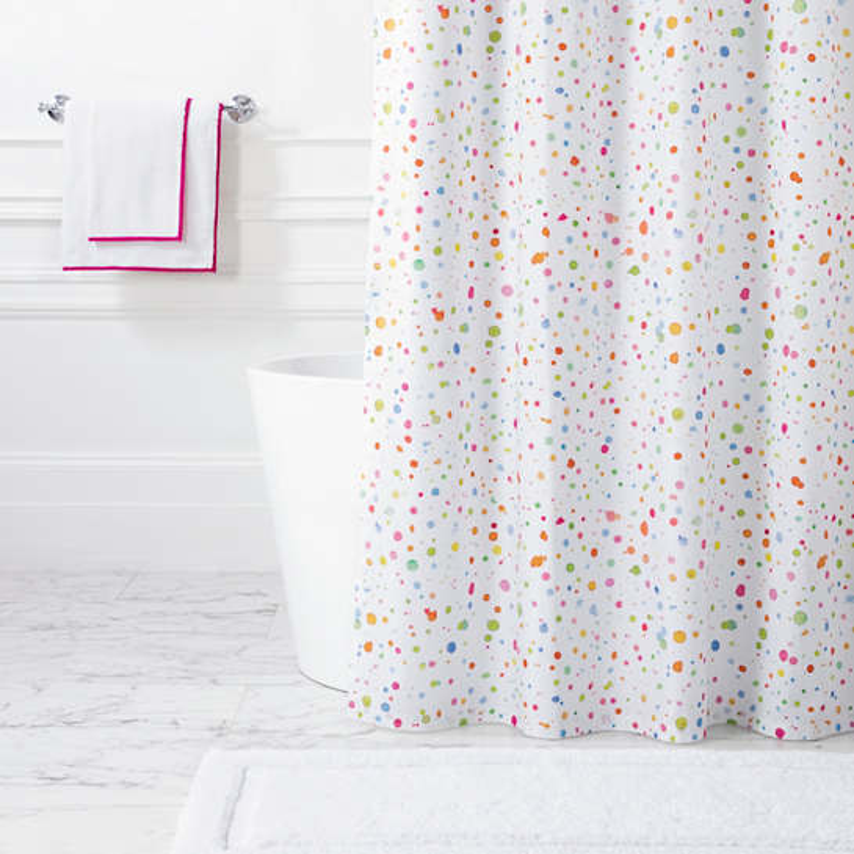 Splatter  Shower Curtain