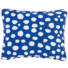 Spot On Cobalt Indoor/Outdoor Decorative Pillow