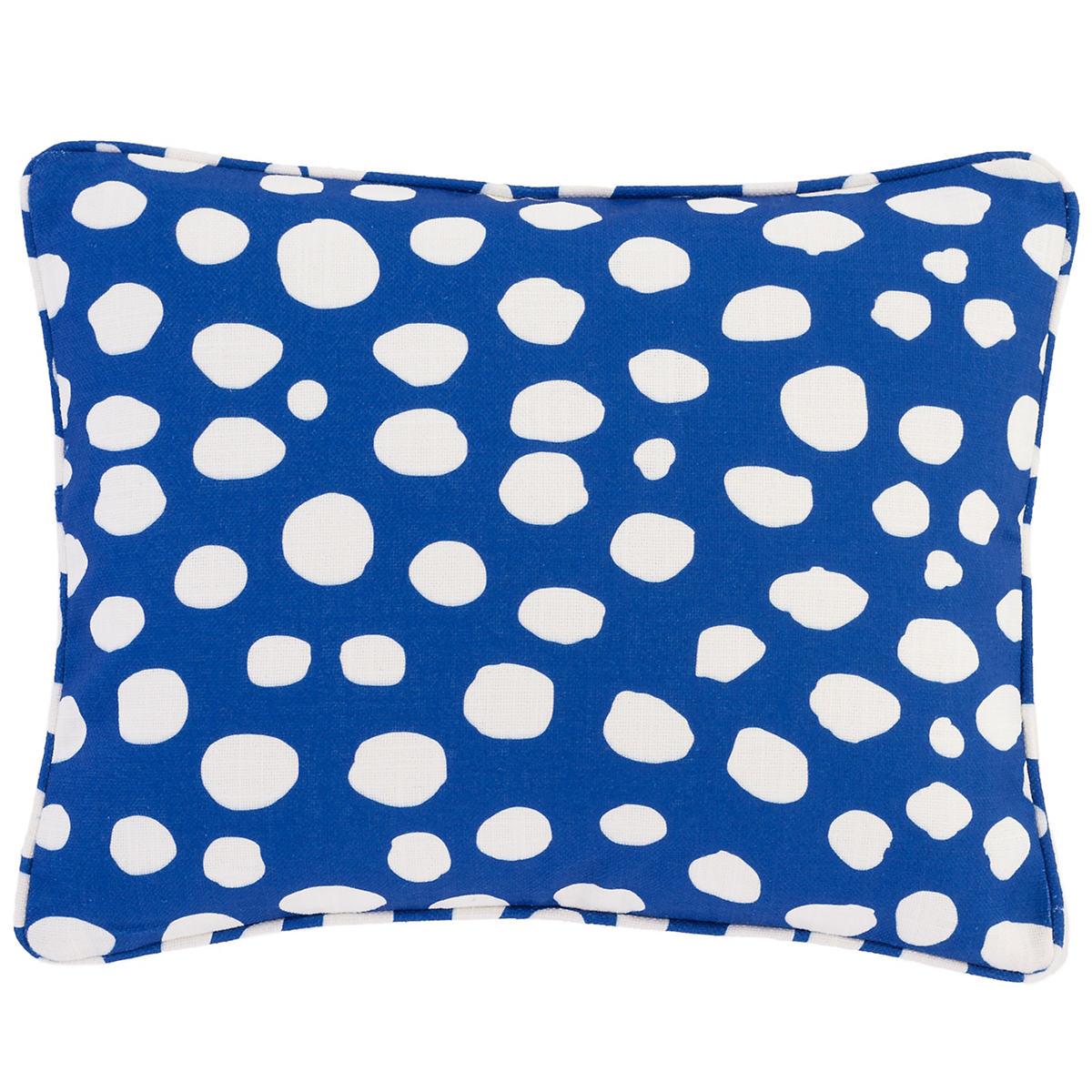Spot On Cobalt Indoor/Outdoor Decorative Pillow