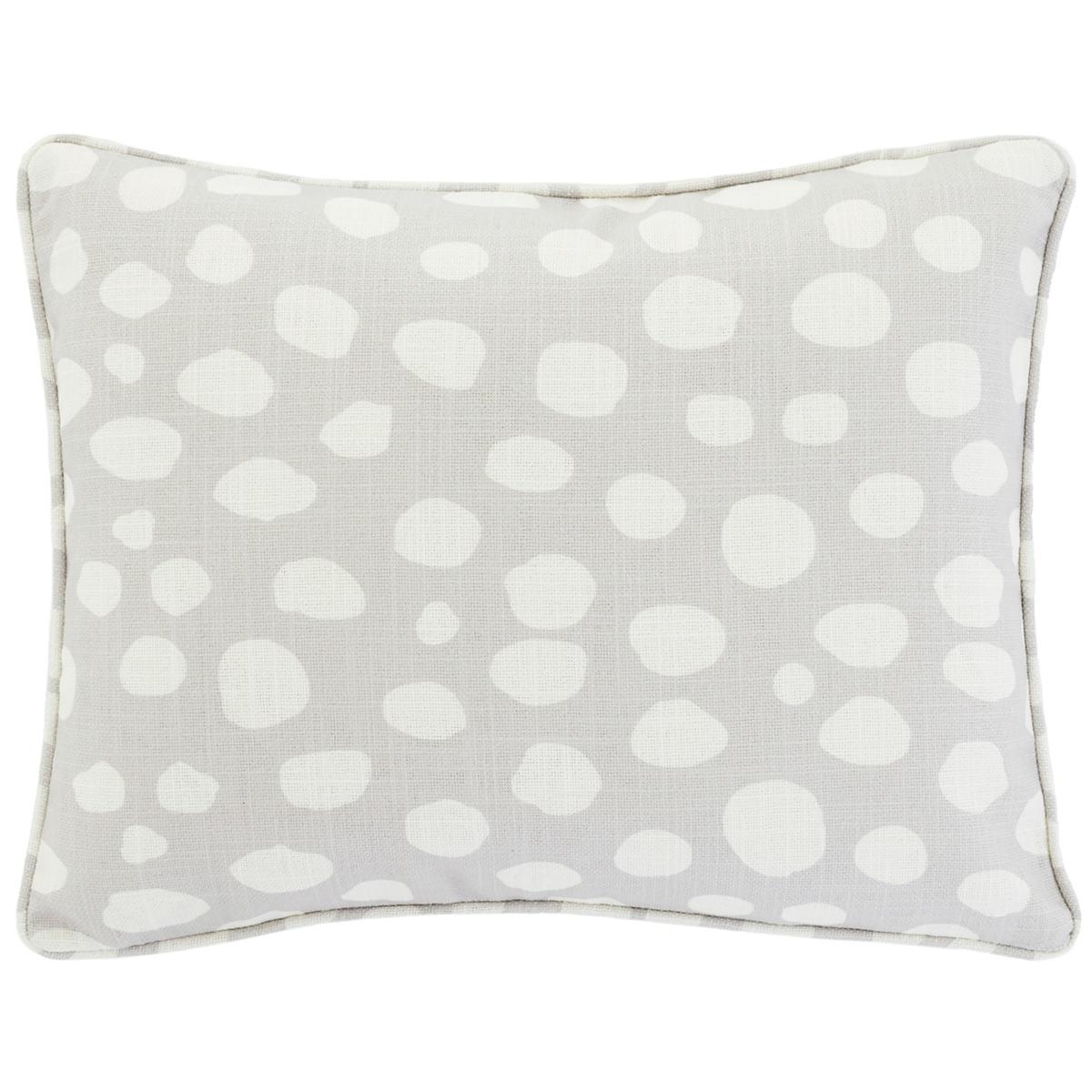 Spot On Grey Indoor/Outdoor Decorative Pillow