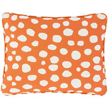 Spot On Orange Indoor/Outdoor Decorative Pillow