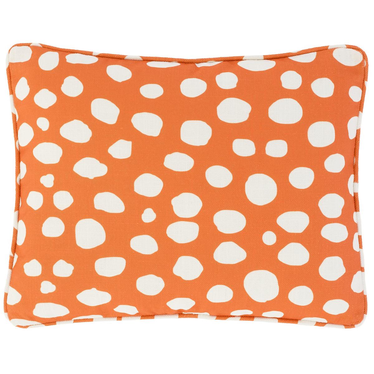 Spot On Orange Indoor/Outdoor Decorative Pillow