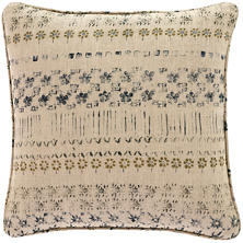 Spruce Linen Blue Decorative Pillow