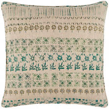 Spruce Linen Green Decorative Pillow