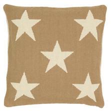Star Camel/Ivory Indoor/Outdoor Pillow