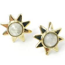 Starr Moonstone Earrings
