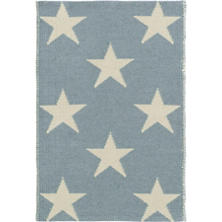Star Swedish Blue/Ivory Indoor/Outdoor Rug